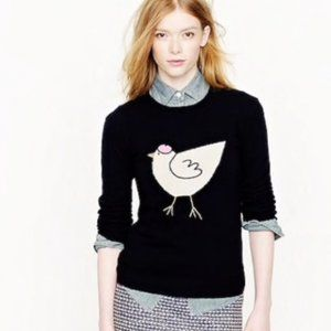 J. Crew French Hen Cashmere Sweater